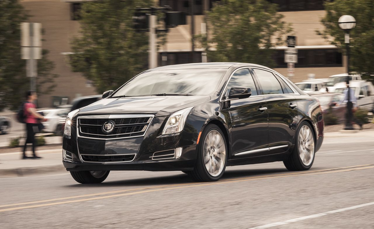 2014 Cadillac XTS Vsport Twin-Turbo V-6