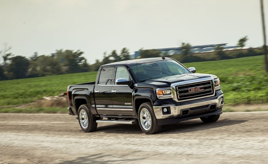 2014 gmc sierra 1500 5 3l 4x4 crew cab test review car and driver. Black Bedroom Furniture Sets. Home Design Ideas