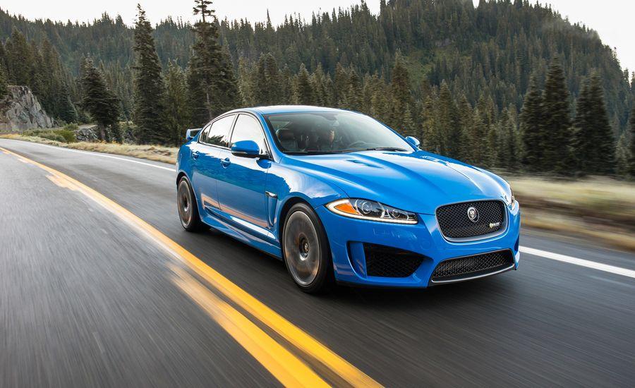 2014 Jaguar Xfr S First Drive Review Car And Driver