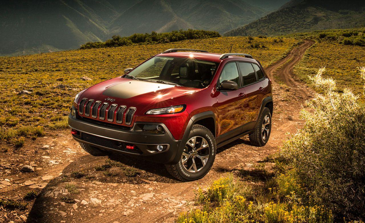 2014 Jeep Cherokee Trailhawk V 6 4x4