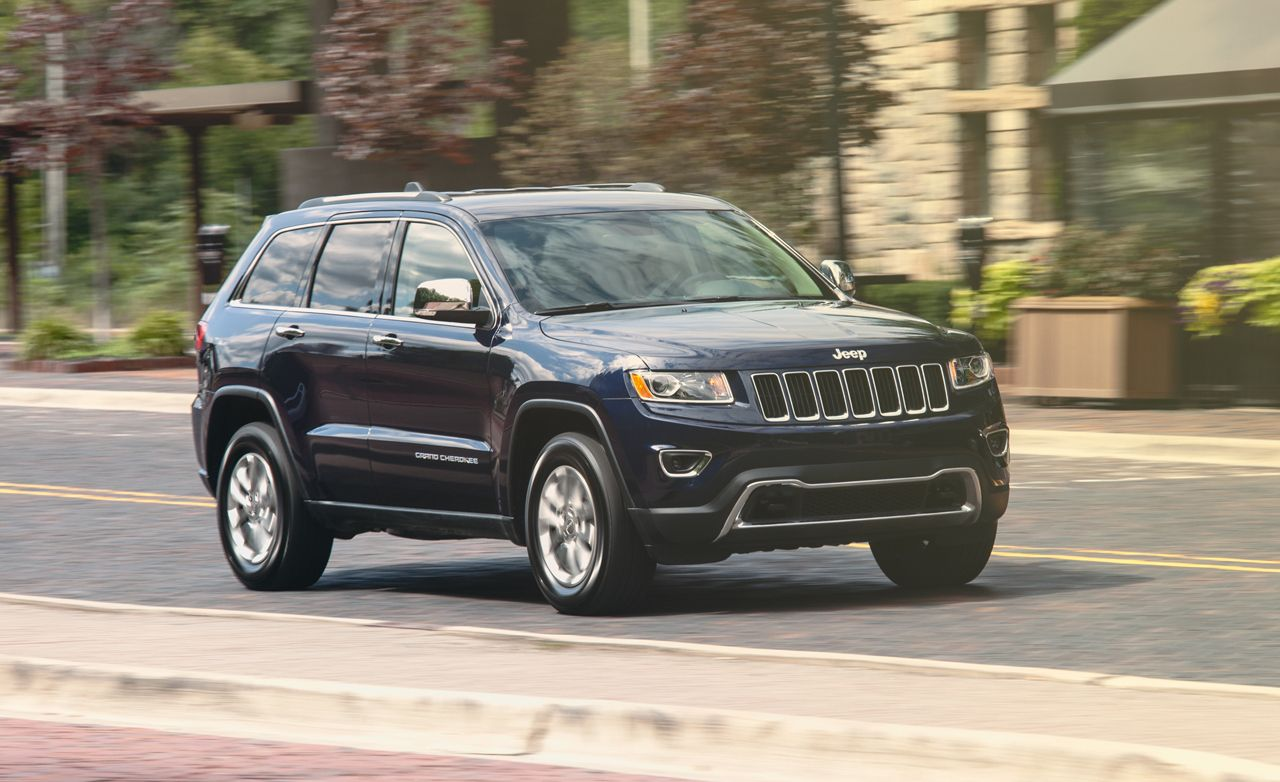 2014 jeep grand cherokee hemi v-8 test – review – car and driver