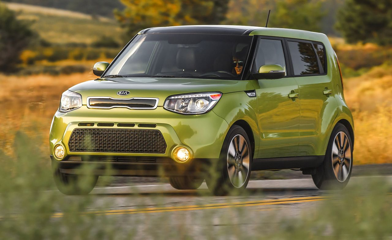 2014 kia soul first drive review car and driver for Kia soul hdmotori