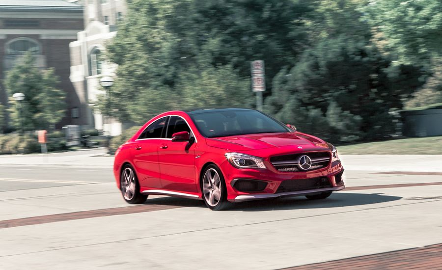 2014 mercedes benz cla45 amg 4matic test review car