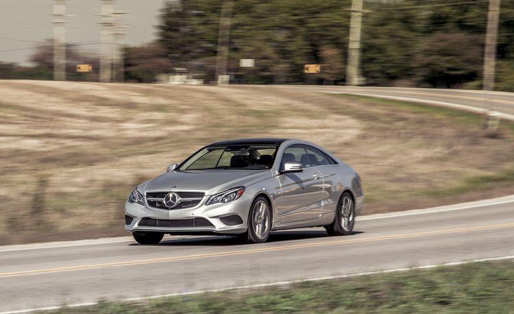 2014 Mercedes-Benz E350 4MATIC Coupe