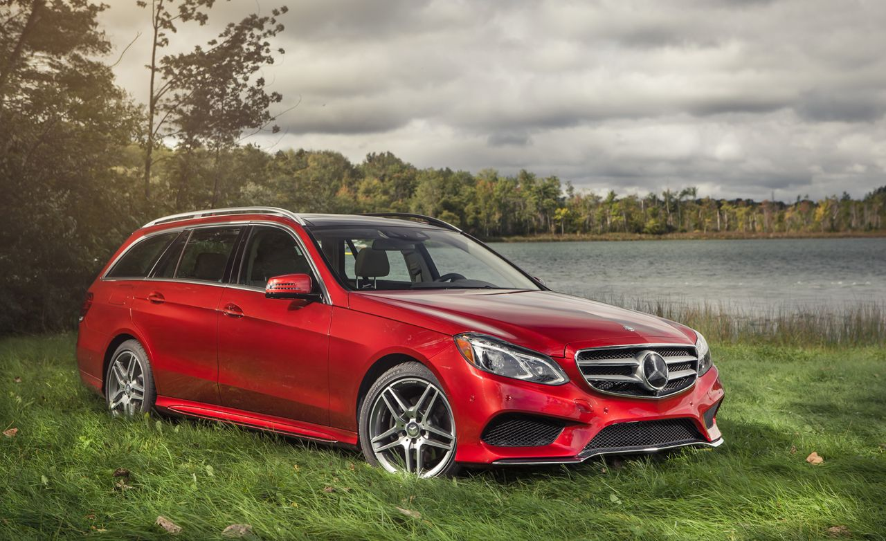 2014 mercedes-benz e350 4matic wagon test – review – car and driver