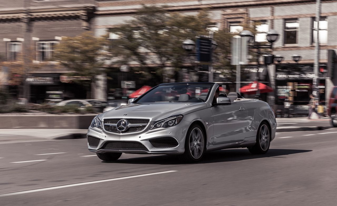 2014 mercedes-benz e550 cabriolet test – review – car and driver