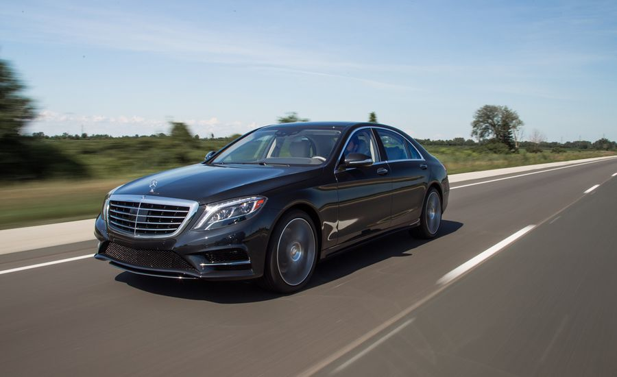 2014 Mercedes-Benz S550 vs. Highway 401