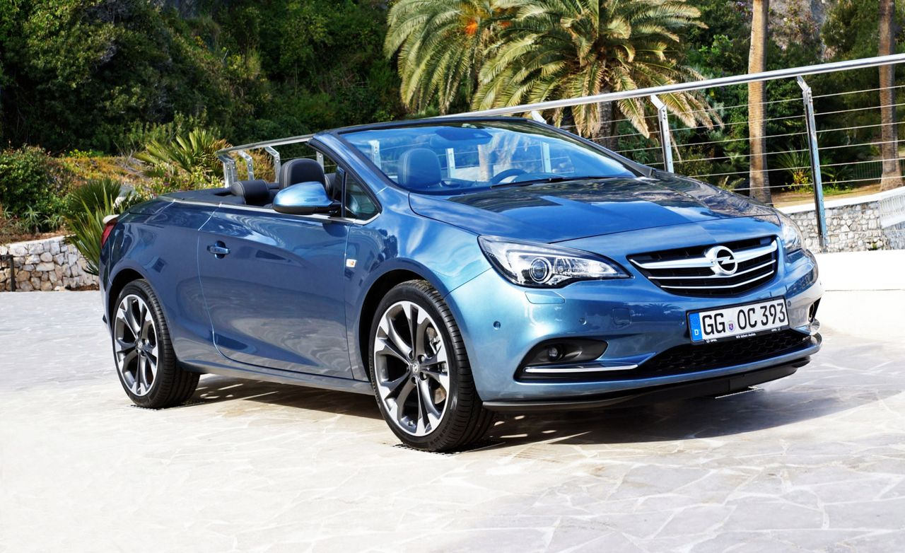 2014 Opel Cascada Cabriolet First Drive Review Car And