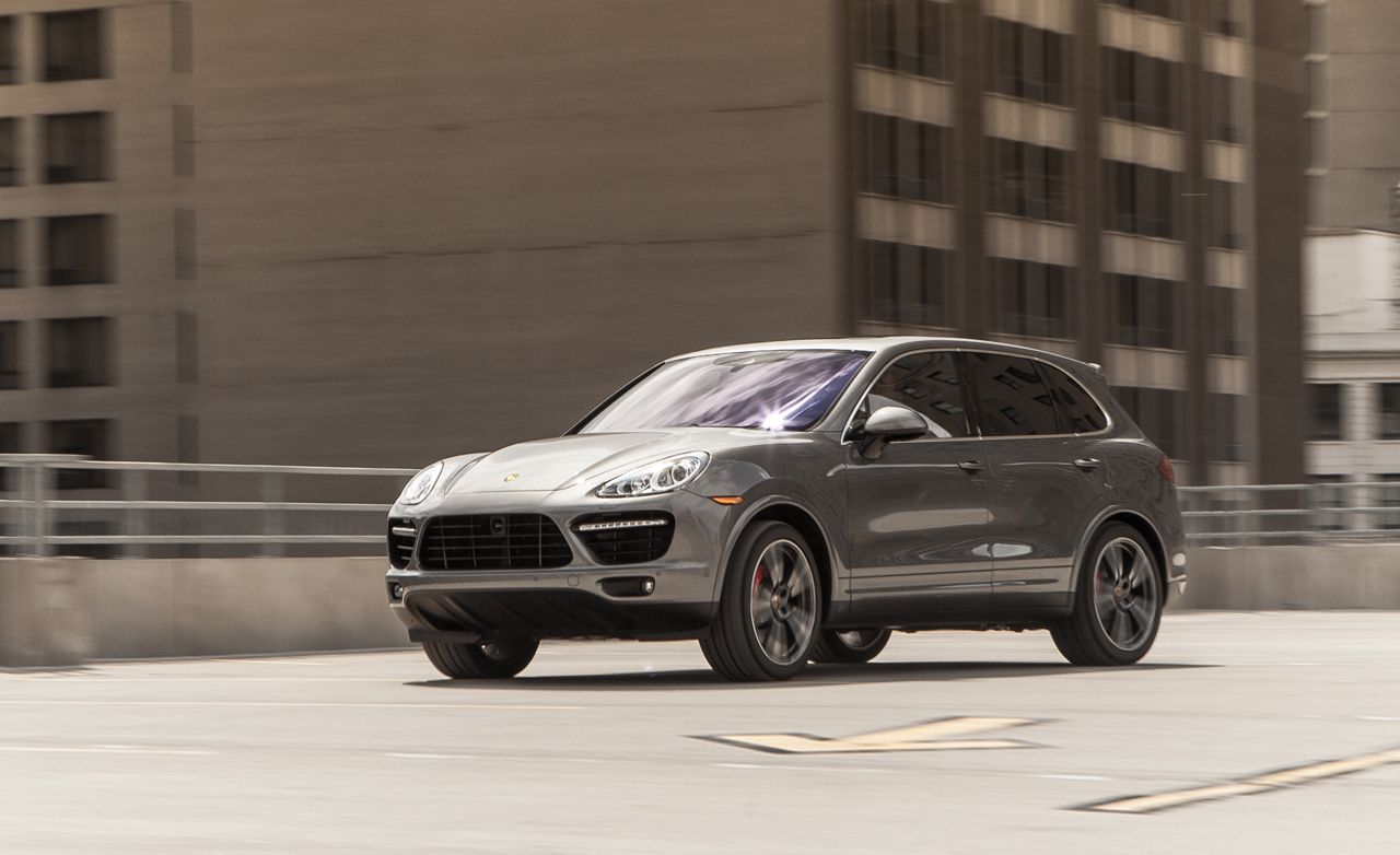 2014 porsche cayenne turbo s test review car and driver rh caranddriver com 2006 Porsche Cayenne Turbo S 2012 Porsche Cayenne Turbo S