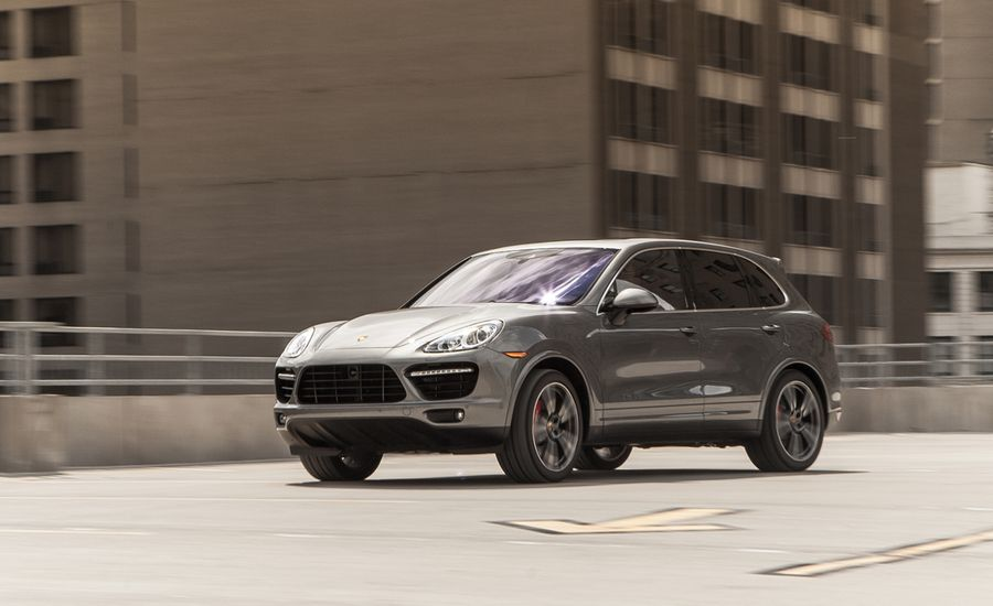 2014 porsche cayenne turbo s test review car and driver. Black Bedroom Furniture Sets. Home Design Ideas