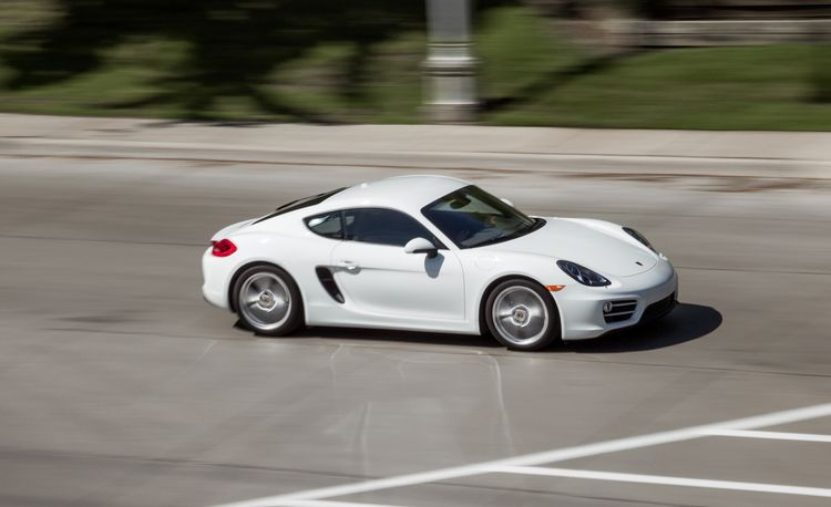 2014 Porsche Cayman Manual