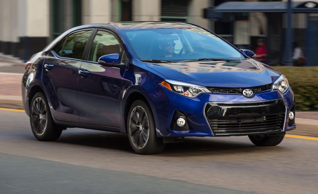 2014 Toyota Corolla First Drive Review Car And Driver