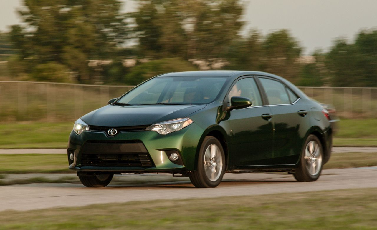 2014 Toyota Corolla Le Eco Test Review Car And Driver