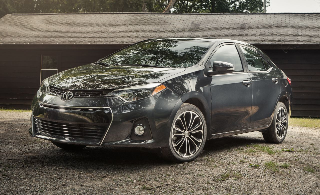 2014 Toyota Corolla S Automatic Test Review Car And Driver