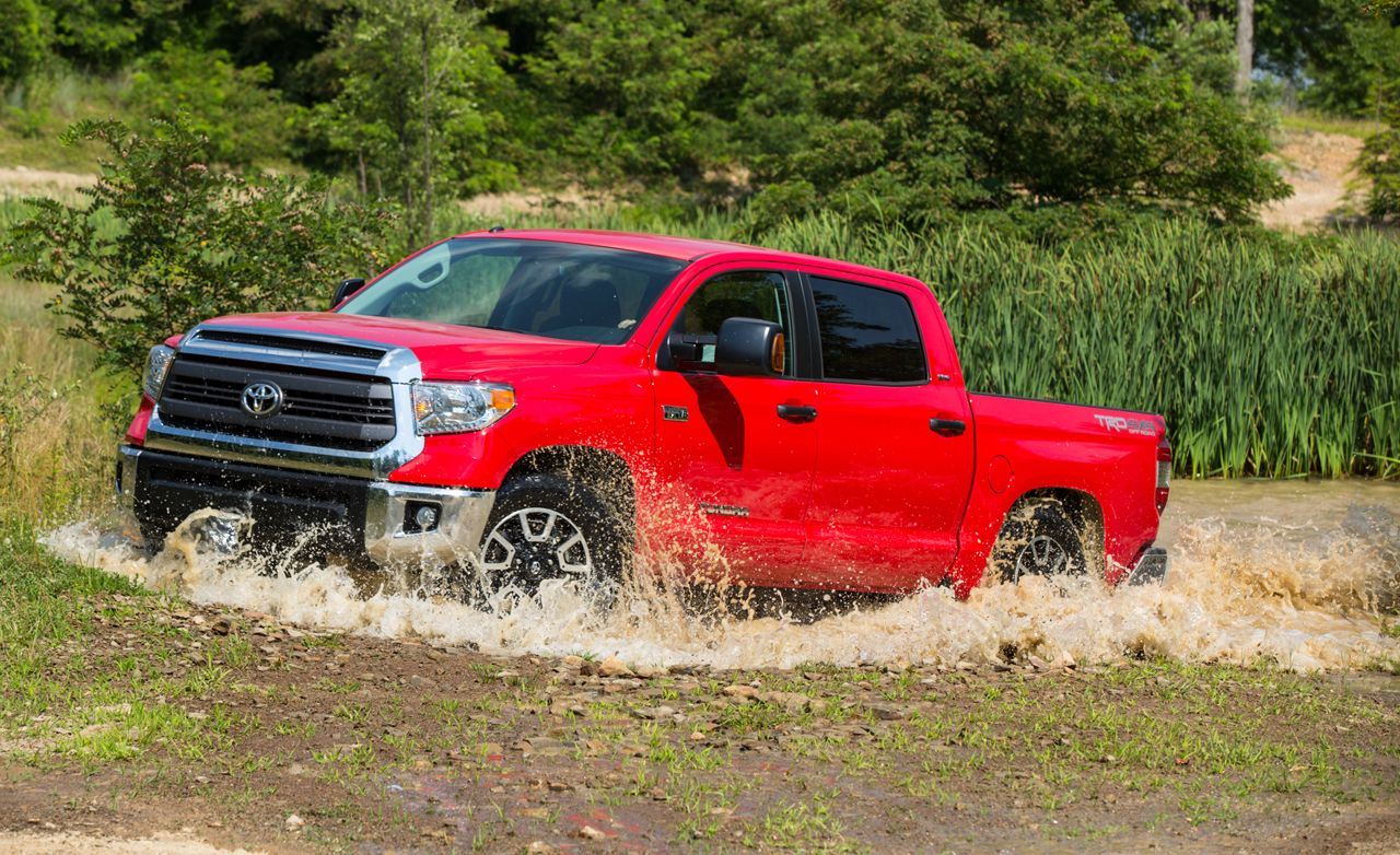 Amazon.com: TRD Pro Letters Black and Red for Toyota Tundra 2014 ...