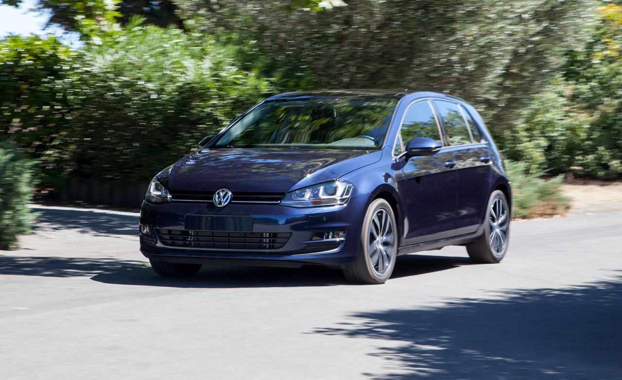 2015 volkswagen golf tdi first drive review car and driver. Black Bedroom Furniture Sets. Home Design Ideas