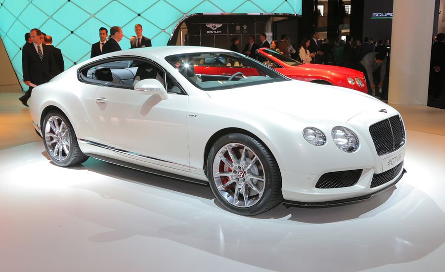 2014 bentley continental gt v8 s photos and info news car and driver. Black Bedroom Furniture Sets. Home Design Ideas
