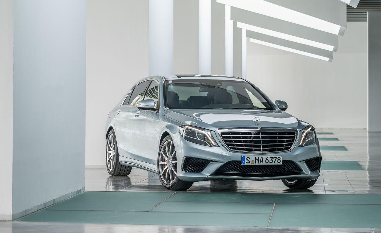 Elegant 2014 Mercedes Benz S63 AMG