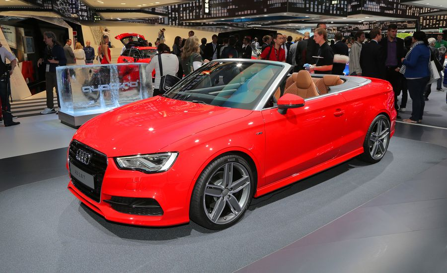 2015 audi a3 cabriolet photos and info news car and driver. Black Bedroom Furniture Sets. Home Design Ideas