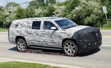 2015 Cadillac Escalade Spy Photos