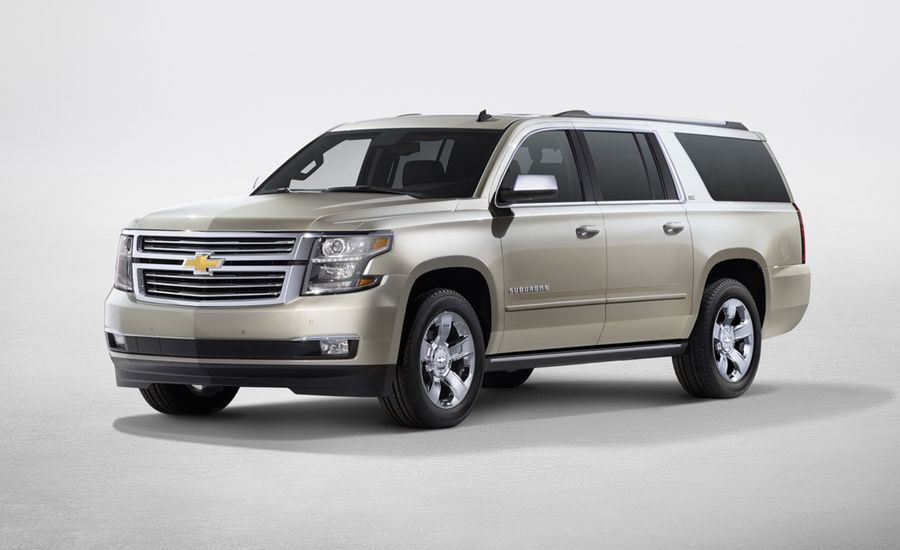 2015 Chevrolet Suburban Photos And Info