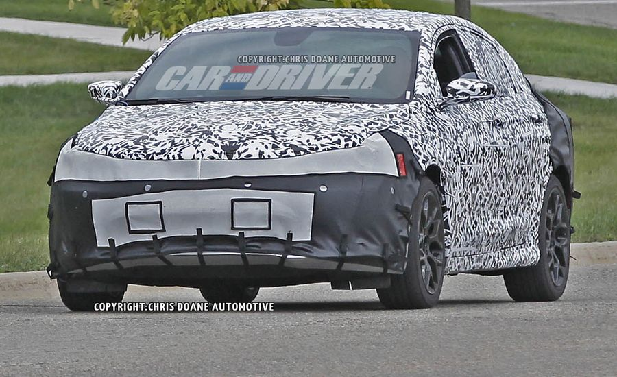 2015 Chrysler 200 Spy Photos