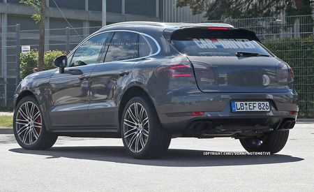 2015 Porsche Macan Turbo Spy Photos
