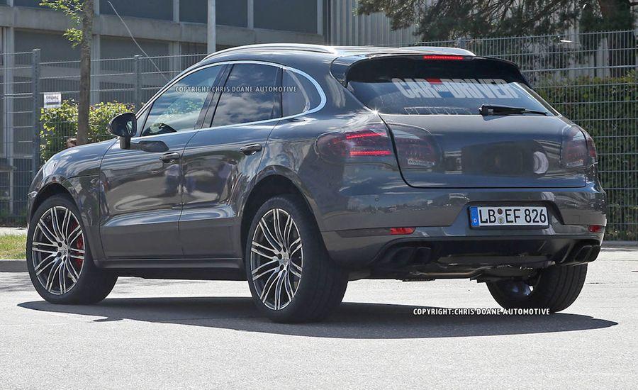 2015 Porsche Macan Turbo Spy Photos   News   Car and Driver