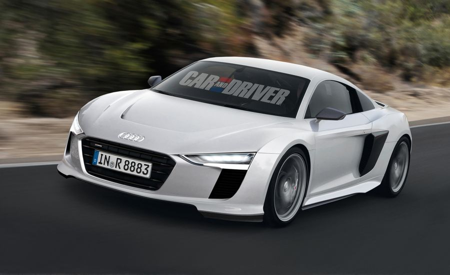 2016 Audi R8 Rendered and Detailed