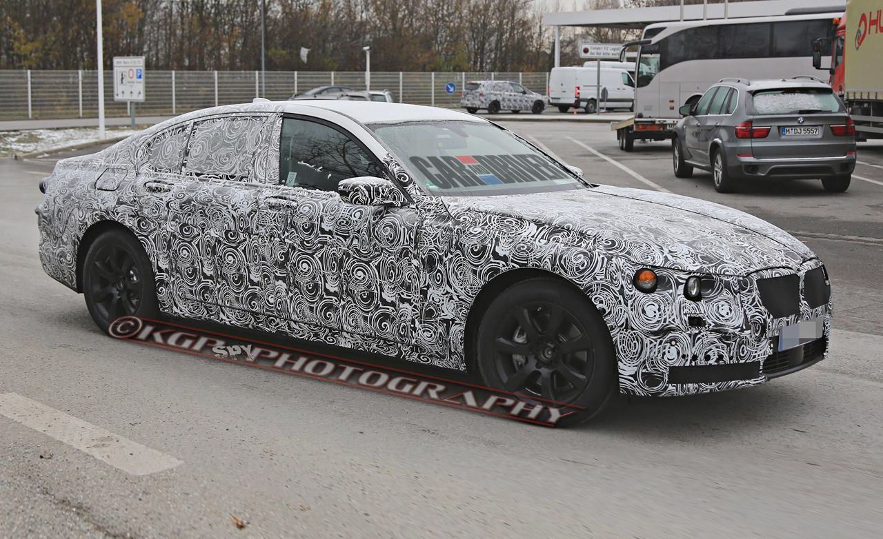 2016 BMW 7 Series Spy Photos