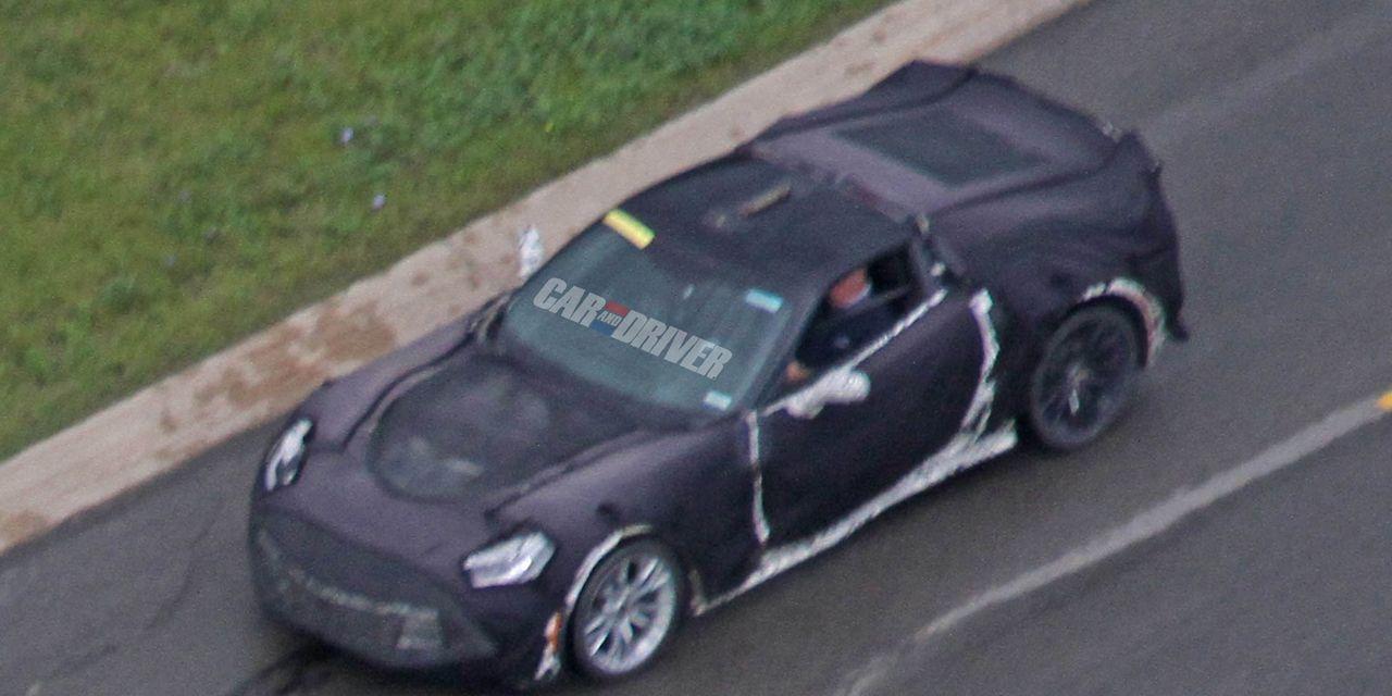 2016 Chevrolet Corvette Z07 Spy Photos