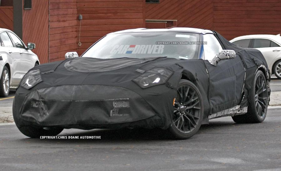 2016 Chevrolet Corvette Z07 Spy Photos