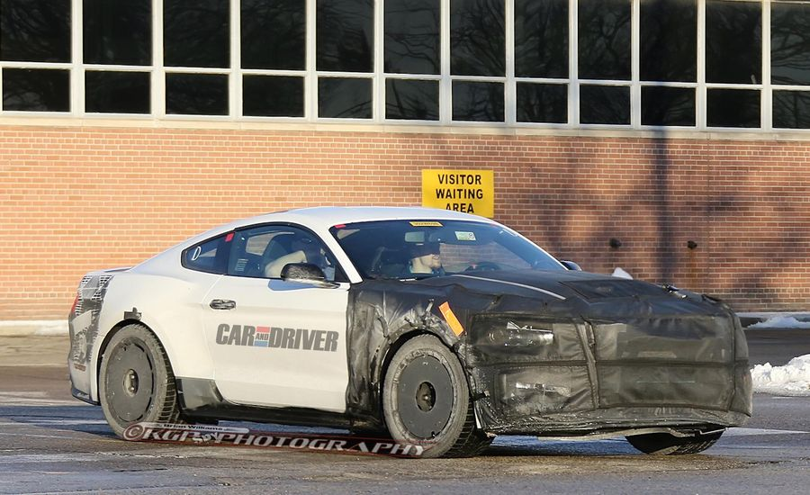 2016 Ford Mustang Shelby GT500 Spy Photos