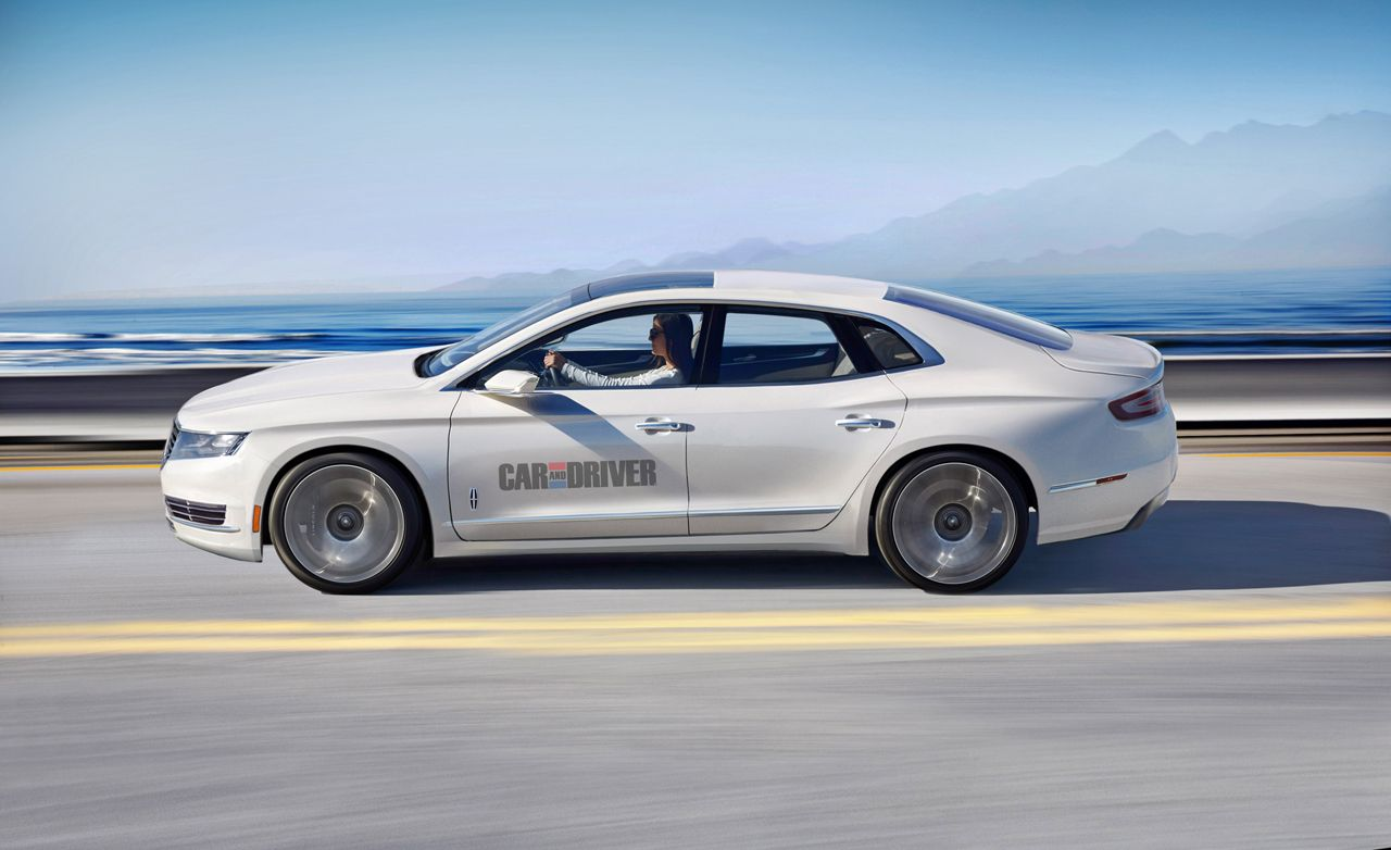 2016 Lincoln Mks Rendered 8211 News 8211 Car And Driver