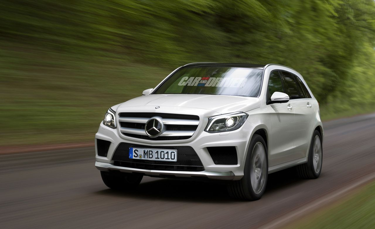 2016 Mercedes-Benz GLK-class Spied and Rendered