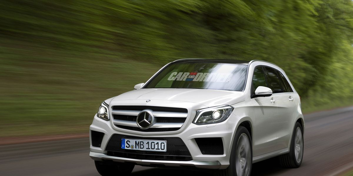 2016 Mercedes Benz Glk Cl Spied And Rendered 8211 News Car Driver
