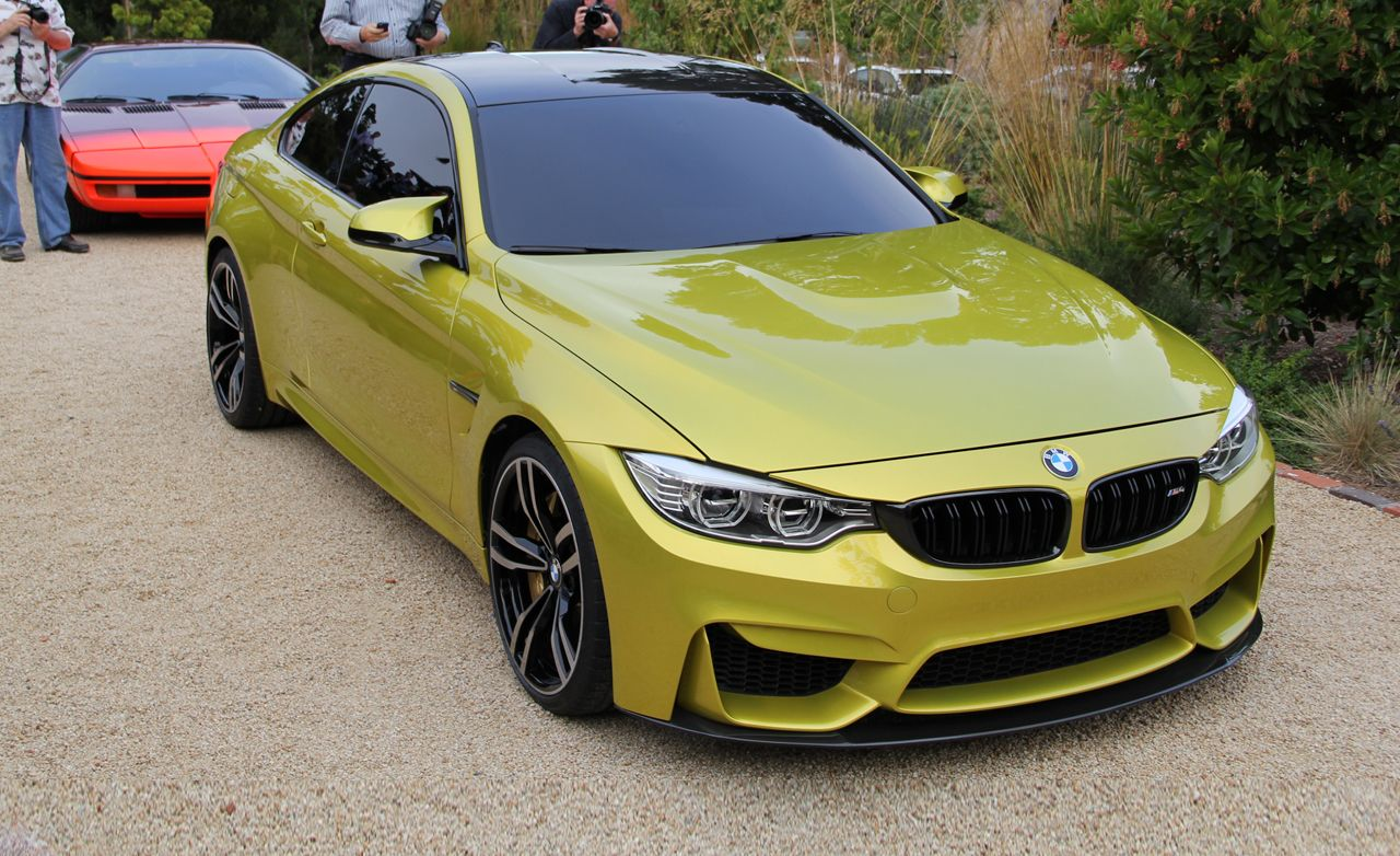 bmw concept m4 coupe photos and info news car and driver. Black Bedroom Furniture Sets. Home Design Ideas