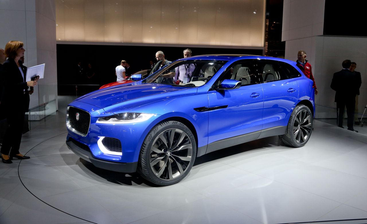 Jaguar C-X17 Sports Crossover Concept | News | Car and Driver
