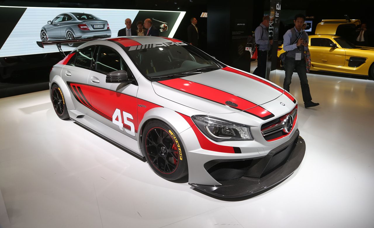 Racing-Derived 2014 Mercedes-Benz CLA 45 AMG images