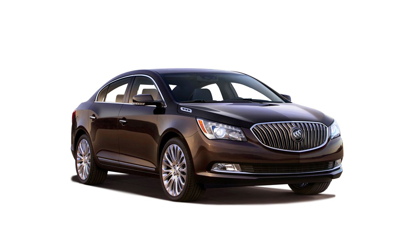 2014 Buick Lacrosse First Drive Review Car And Driver