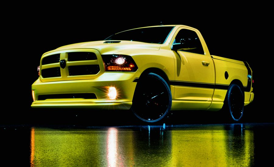 Ram 1500 Rumble Bee Concept Photos and Info | News | Car and Driver