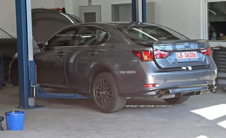 2015 Lexus GS F Spy Photos