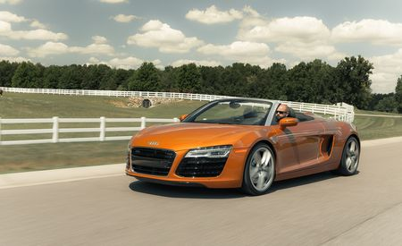 Up Close: 2014 Audi R8 Spyder