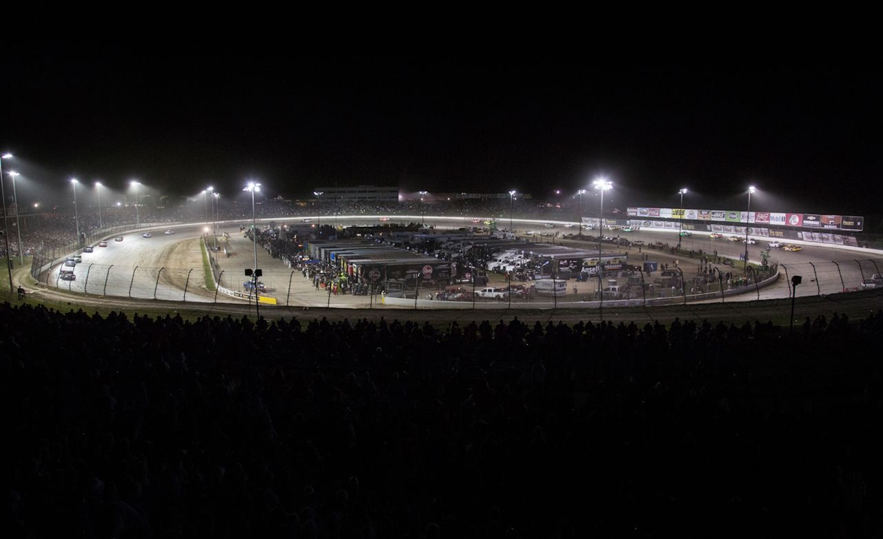 Dirt Don't Hurt: Behind the Scenes of NASCAR's Return to Dirt-Track Racing