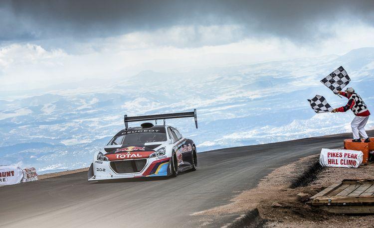 Sébastien Loeb Sets New Pikes Peak Record