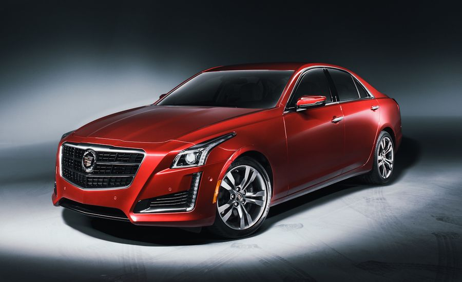 second look 2014 cadillac cts sedan feature car and driver. Black Bedroom Furniture Sets. Home Design Ideas