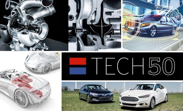 The Car and Driver Tech 50