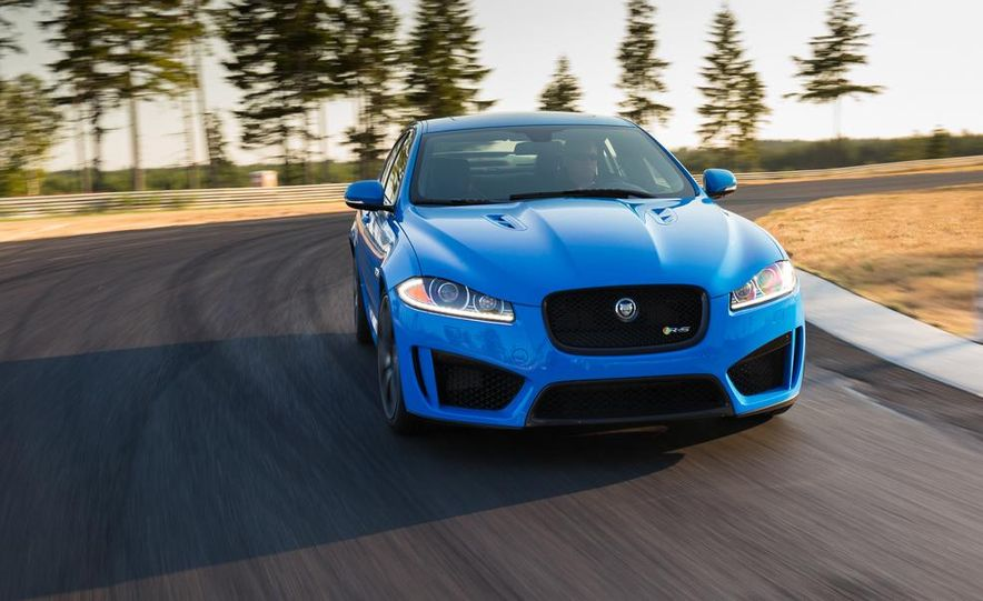 2014 Jaguar XFR-S - Slide 1