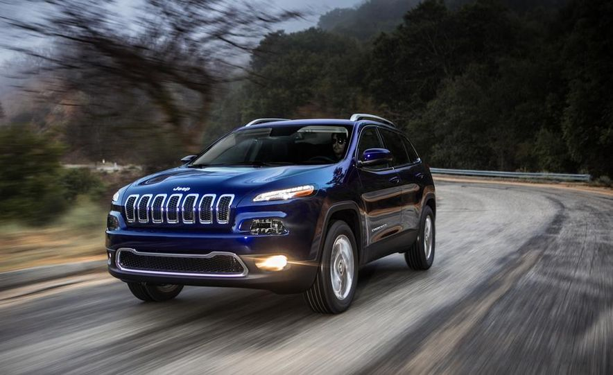 2014 Jeep Cherokee Limited - Slide 8