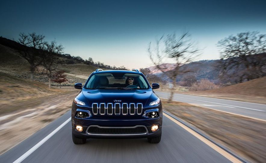 2014 Jeep Cherokee Limited - Slide 18
